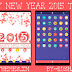 Happy New Year 2015 Go-Launcher Theme for  Nokia X, Nokia XL, Samsung, Samsung Galaxy, Samsung Star, Google, Google Nexus, Sony Xperia, Q-Mobile, HTC, Huawei, LG G2, LG & Other Android Devices