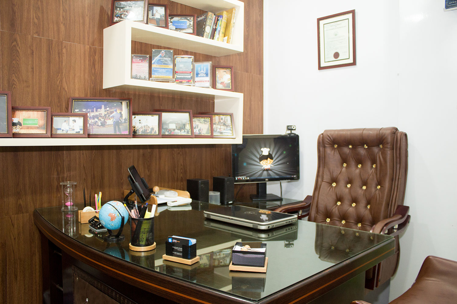 Visit a Blogger's Office