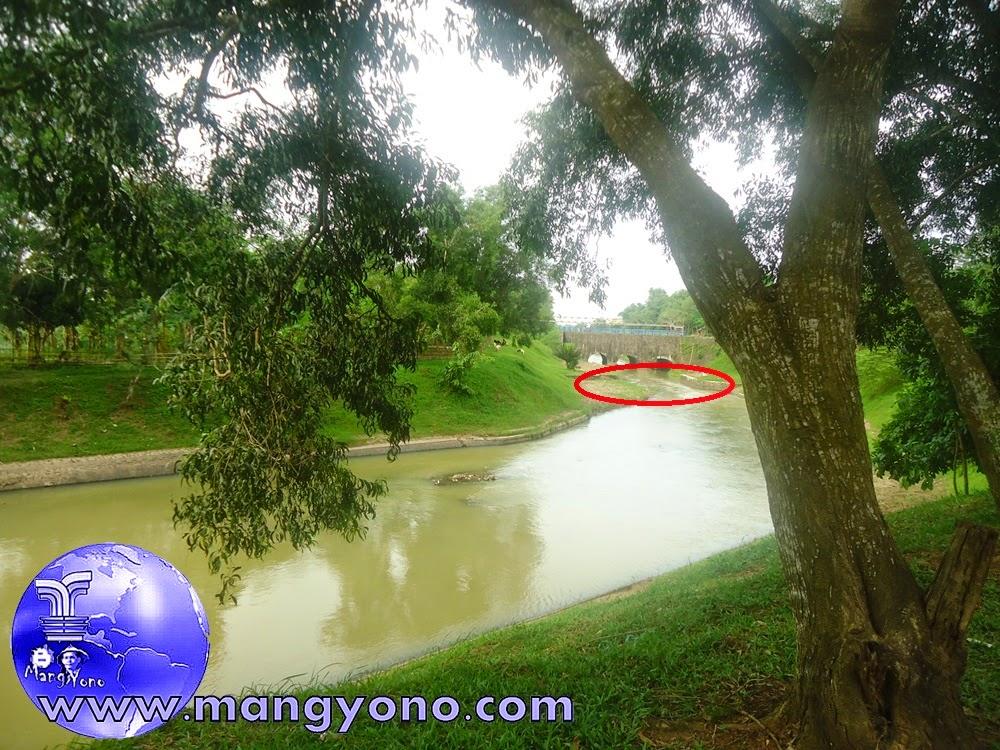 Sungai Ciasem sekarang banyak endapan - endapan yang menjadikan sungai dangkal