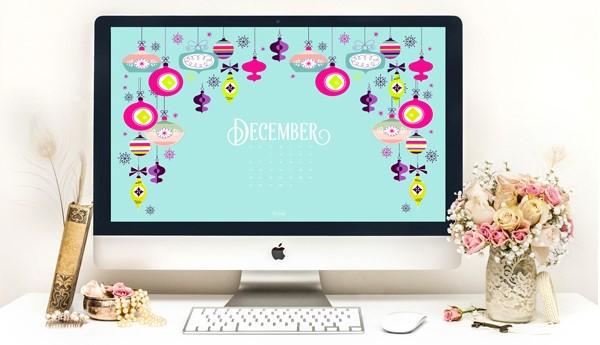 Wallpaper December Calendar 2015