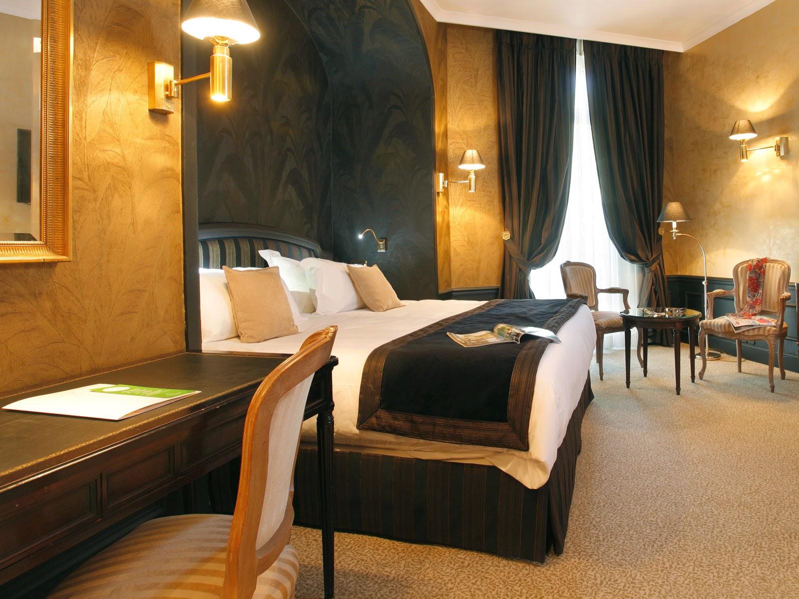 Habitación de hotel estilo art decó