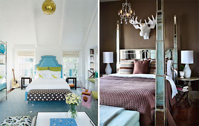 Decoraci n de dormitorios de colores dise o interior en for Chocolate brown and blue bedroom ideas