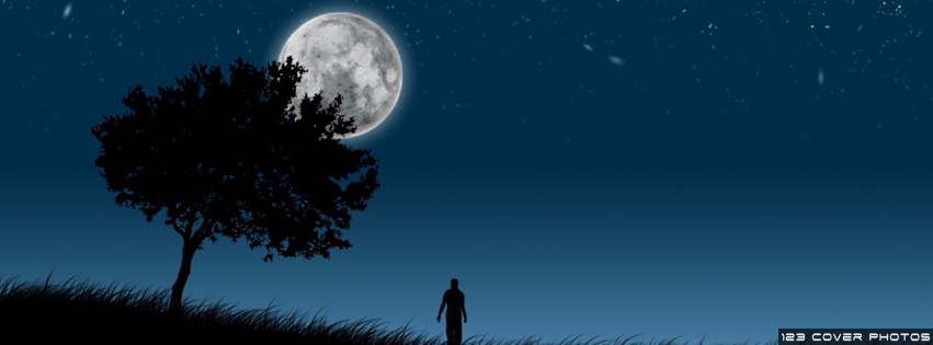 Lonely Man  amp  Tree FB Cover PicLonely Girl Quotes Cover Photos