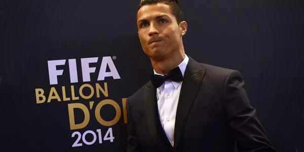 Pemain Terbaik Dunia Ballon D'or 2014 Akhirnya di Raih Ronaldo