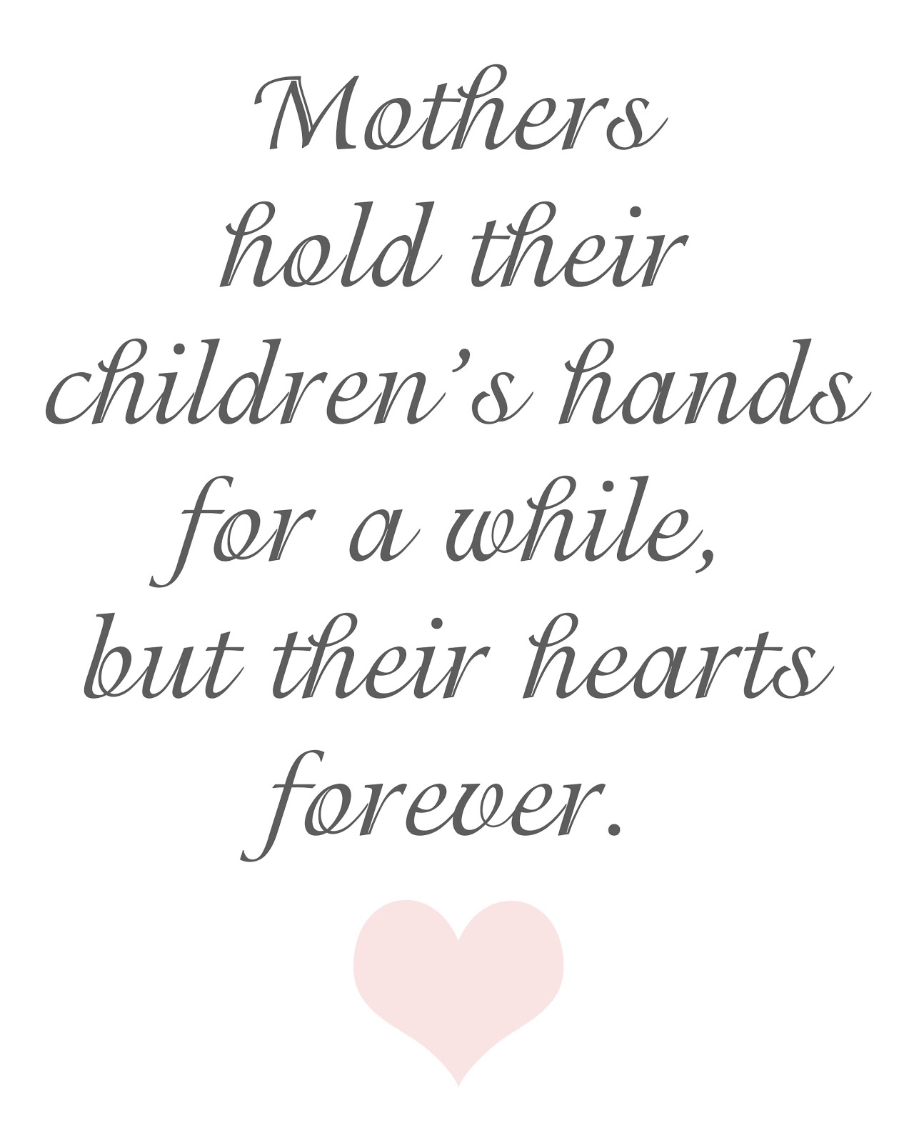 Ridiculous image throughout printable mothers day quotes