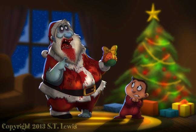 Merry Zombie Christmas...