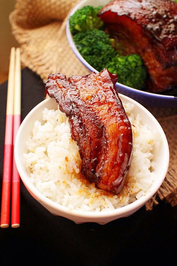 Braised Pork Belly with Sugar-cane - Ba Chỉ Kho Mía