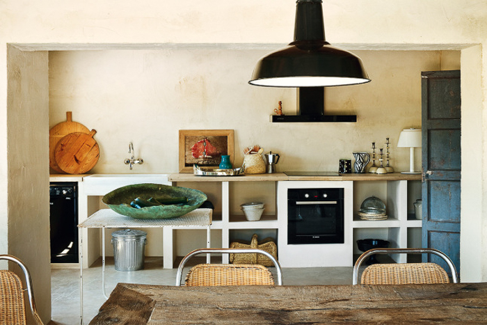 Country spirit in spain with or without shoes blog - Cocina de obra ...