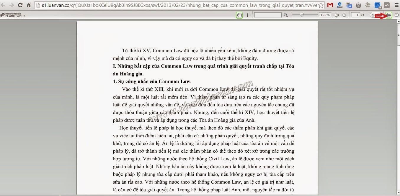 Hướng dẫn download tài liệu mã hóa dạng .swf về .pdf
