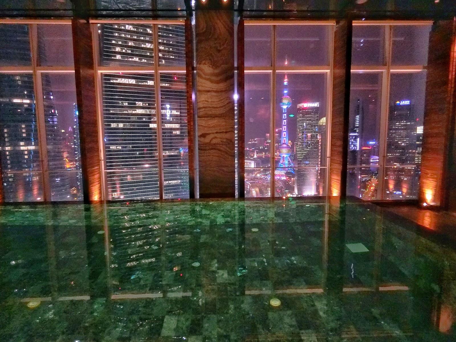 Travel four seasons hotel shanghai pudong dining spa - Shanghai infinity pool ...