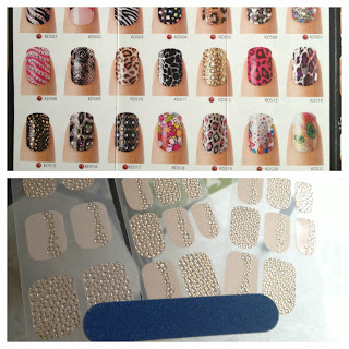 KISS Nail Dress designs