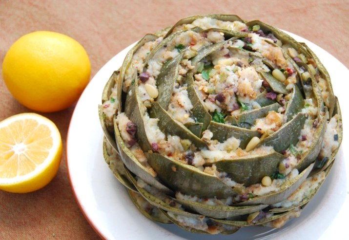 Food Blogga: I Heart Mom's Stuffed Artichokes