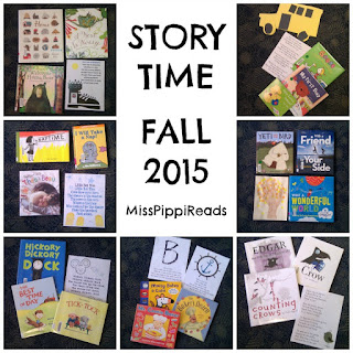 Fall Storytime Themes from Miss Pippi Reads