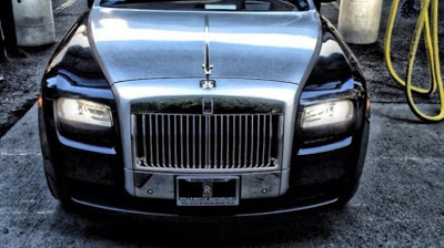 Rapper The Game Has a New Rolls Royce Ghost