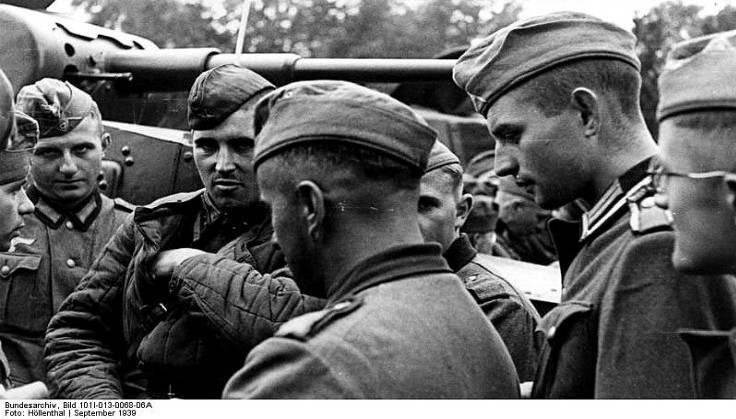 Советские и немецкие танкисты - друзья - 5