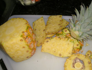 Honduran pineapple