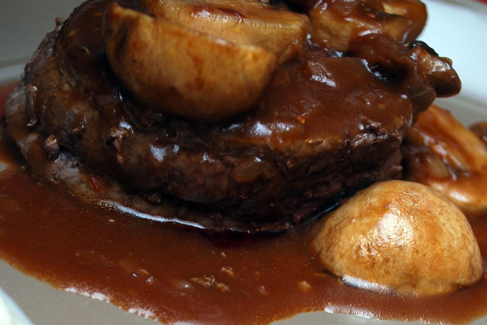 Fil et fouet sauce aux champignons et au porto - Marinade pour viande rouge ...