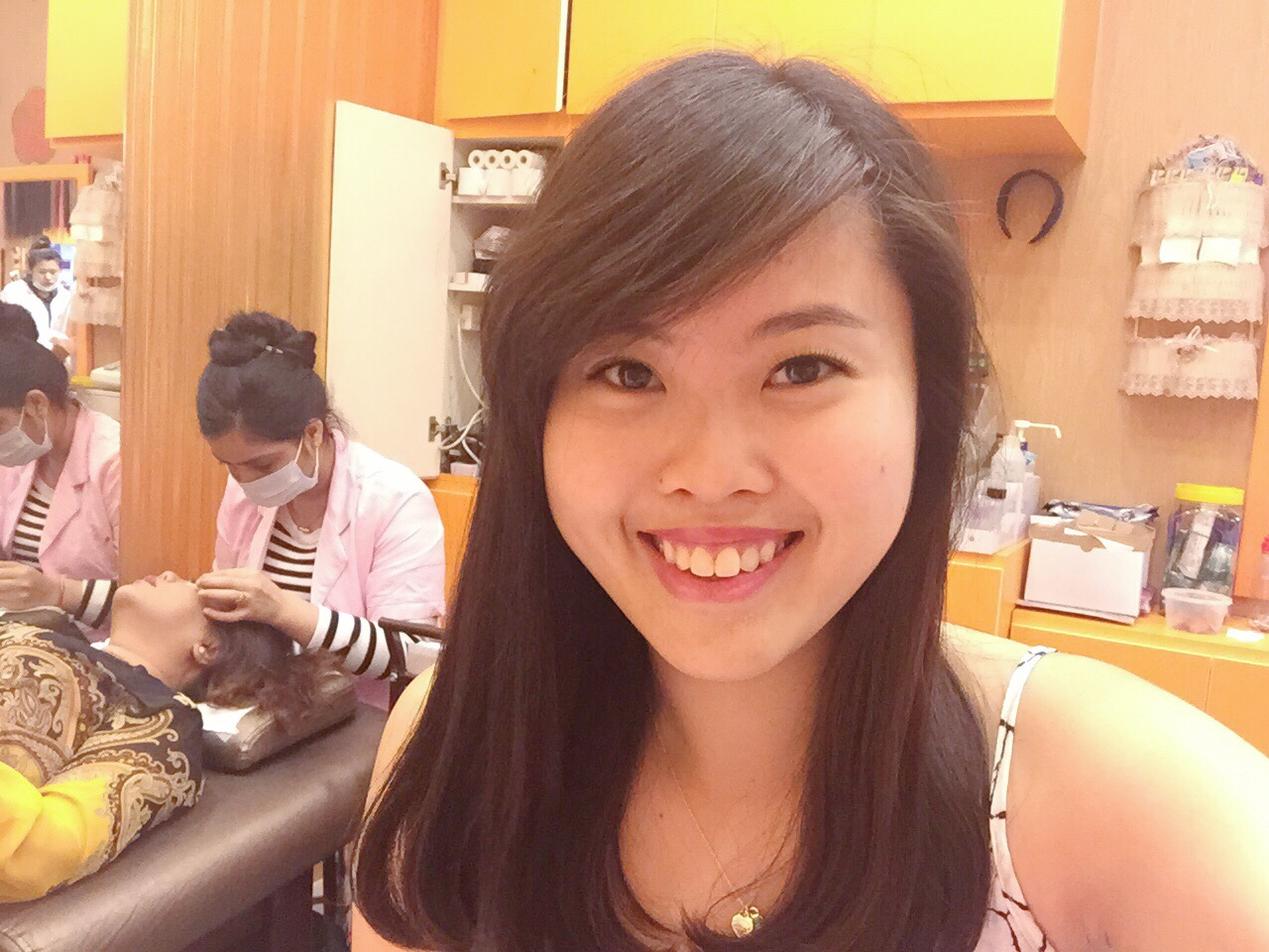 Eyelash extensions at vain beauty singapore cforcassan food of extensions i would recommend you to show her the first image of the cluster extensions so shell know which ones you are referring to because the pmusecretfo Gallery