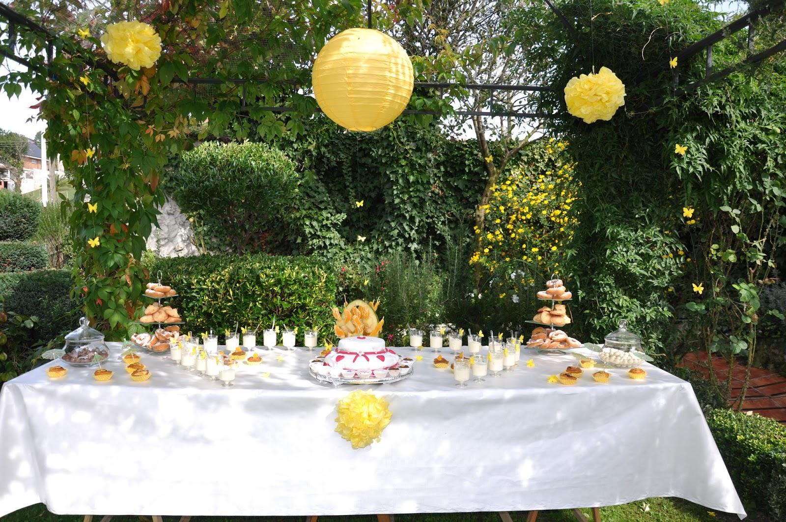 Momentos especiales e c fiesta cumplea os al aire libre - Cumpleanos al aire libre ...