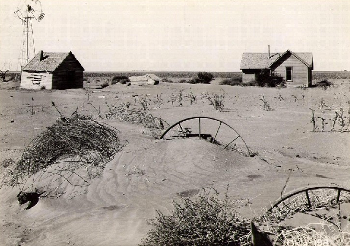 Dust Bowl from Wikimedia Commons, Public Domain
