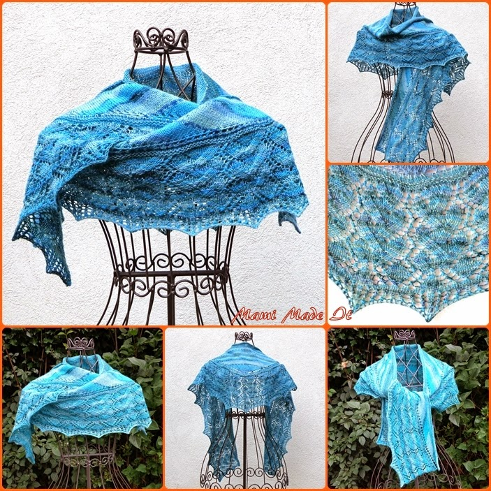 Shawlette Blue Lagoon by Mami Made It