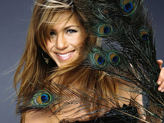 Jennifer Aniston with feather nice pictures