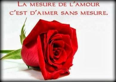 Michel blogue le sujet oraison/ 2/  A+mesure+amour