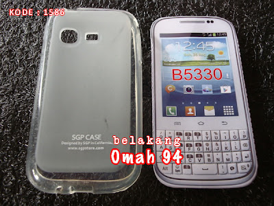 Jual Silikon Soft Case Samsung Galaxy Chat B5330 Bening (Clear