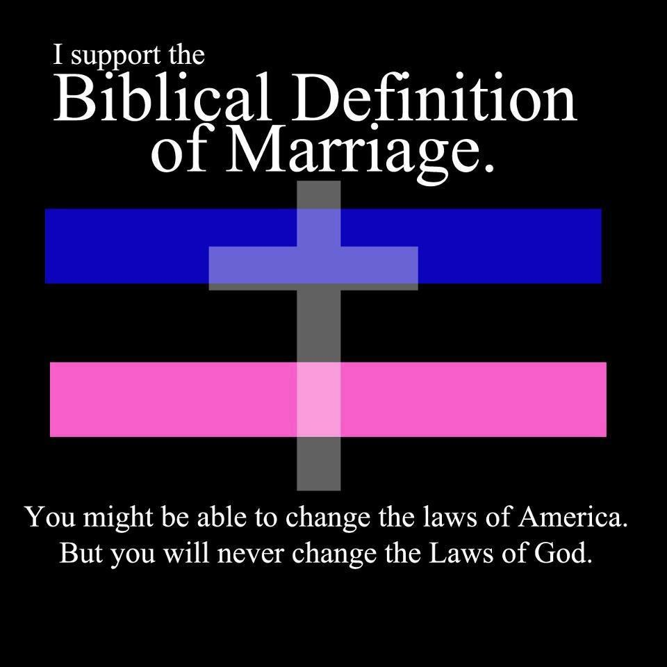 surph's side: biblical definition of marriage