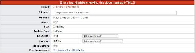 Gambar HTML5 errors W3C Markup Validator