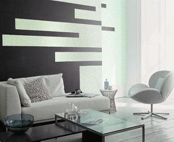 Renovar el salon decorar tu casa es - Salones pintados a rayas ...