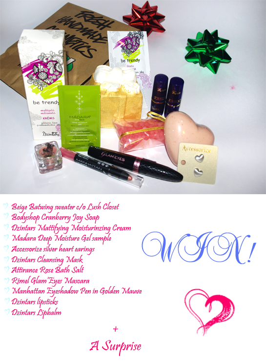 Blog giveaway, Giveaway, Win beauty products, Blogiversary giveaway