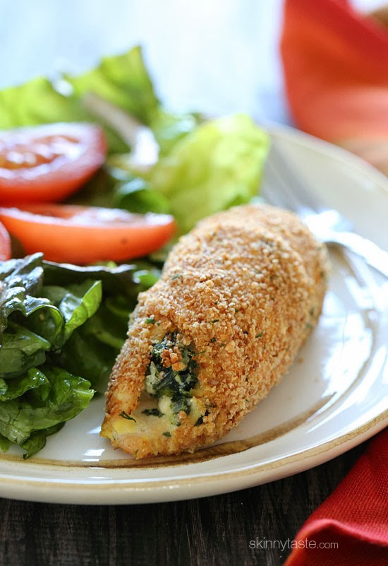 Chicken Stuffed with Spinach and Feta Spinach and Feta Stuffed Chicken ...