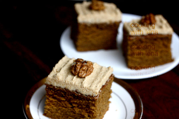best coffee cake with coffee butter cream