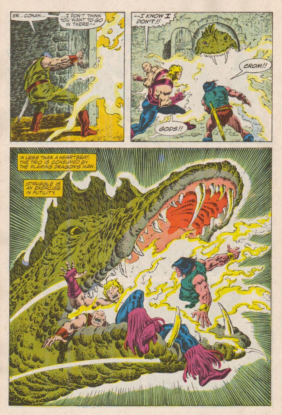 Conan the Barbarian (1970) Issue #190 #202 - English 17