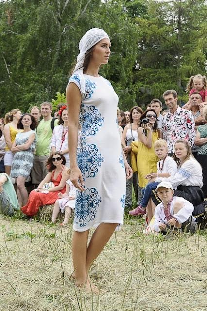 Сукня в етнічному стилі від модного будинку РІТО