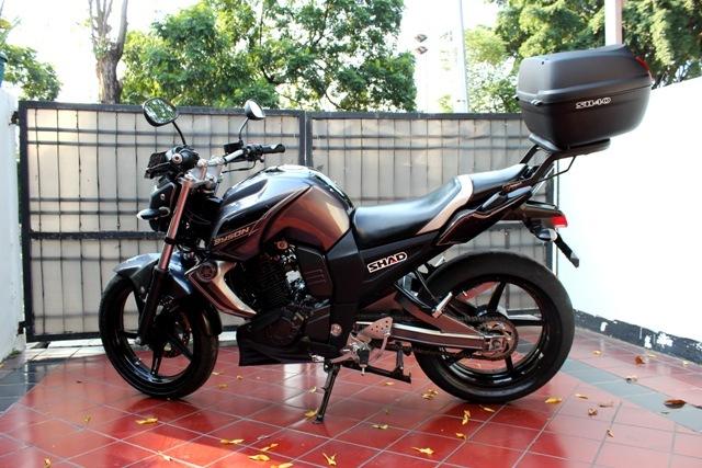 Modifikasi Yamaha Byson Touring Gambar Motor Terbaru