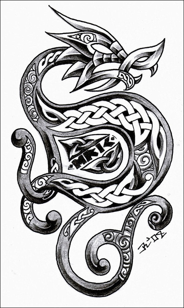 World s most popular tattoo for female celtic dragon tattoo designs