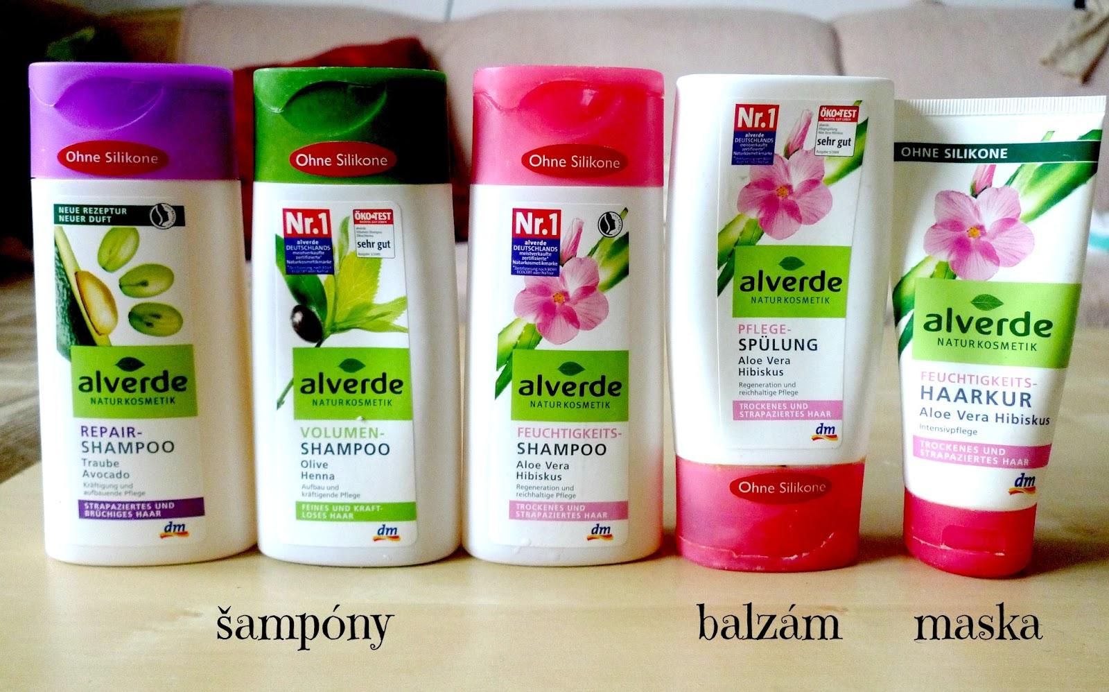 Alverde šampon bez silikonu