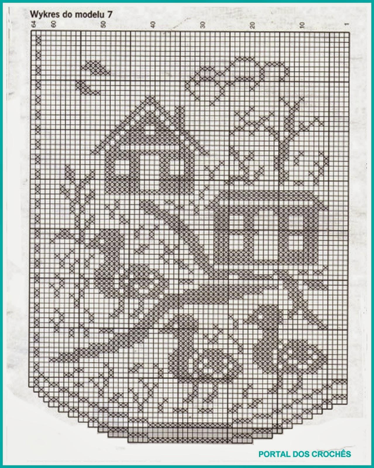 Филейное вязание для картин 281