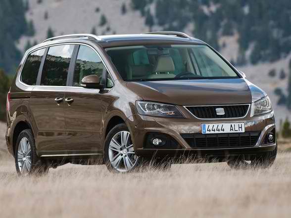 All New Luxury Car 2012 New Seat Alhambra 4wd