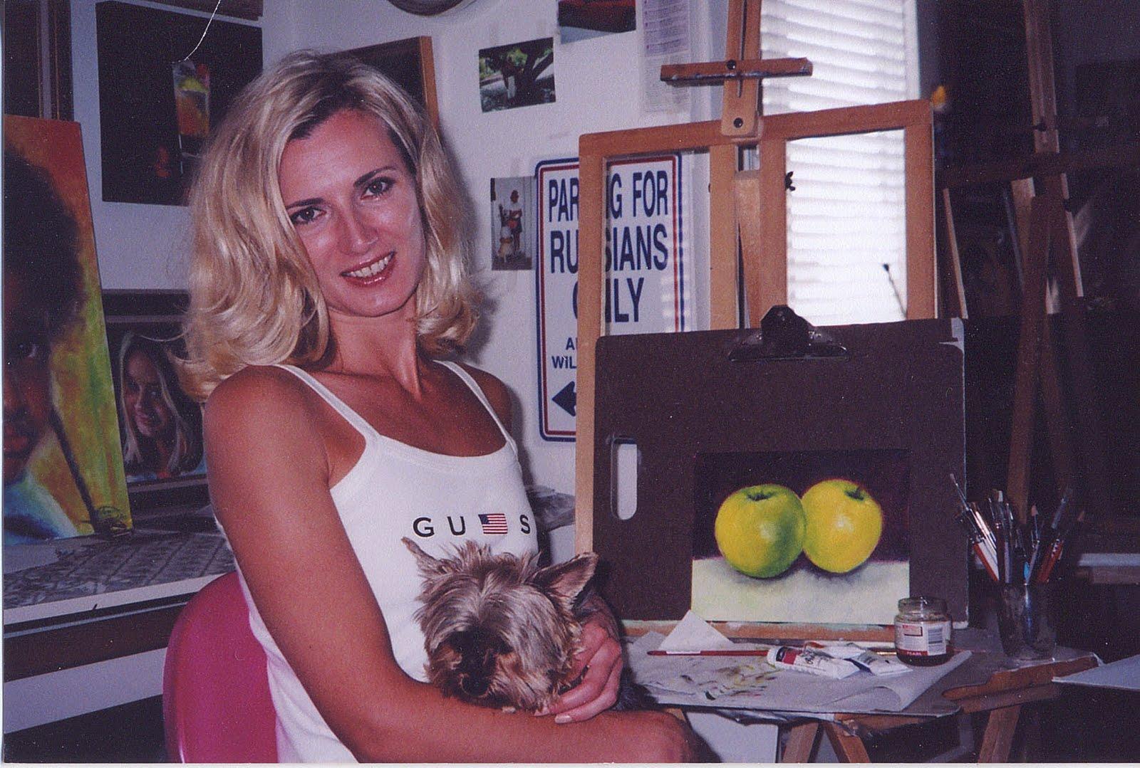Tamara Geddes a Portrait Artist