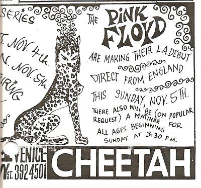 Pink Floyd USA Tour 1967
