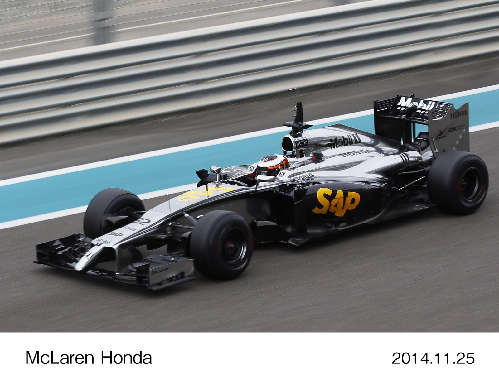 new mclaren honda f1 prototype makes its first outing on track w video. Black Bedroom Furniture Sets. Home Design Ideas