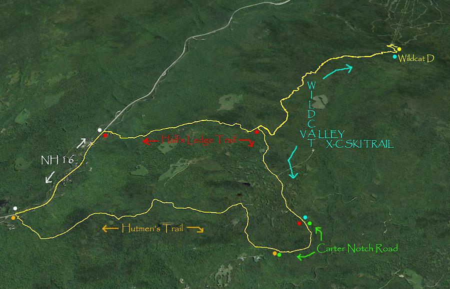 Sneak Mt Wildcat Wildcat D Peak