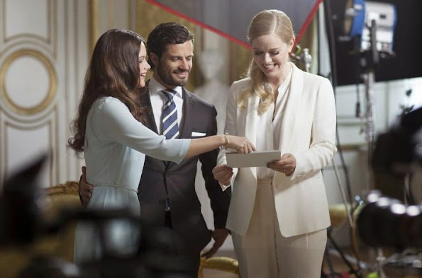Prince Carl Philip and Sofia Hellqvist have given an interview to SVT and Ebba Kleberg von Sydow