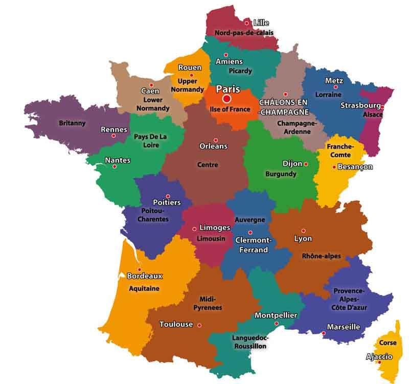 städer i frankrike