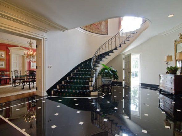 Homes With Marble Floors : Modern interior designs marble flooring ideas