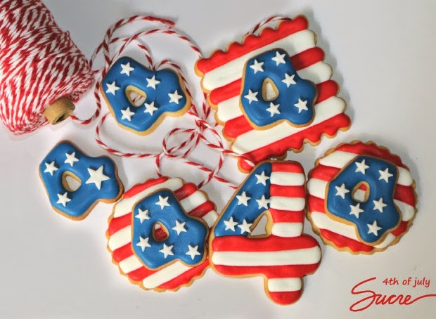 galletas decoradas 4 julio, galetes decorades 4 juliol, americanas, americanes, bandera americana, 4th of july
