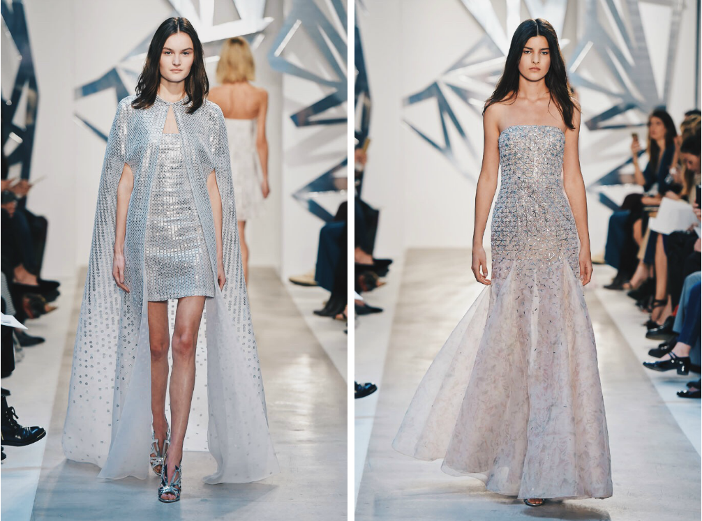 Ana Maddock- Loris Azzaro Paris Haute Couture Fashion Week SS16